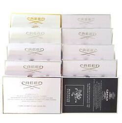 CREED MEN WOMEN OFFICIAL SAMPLES SELECTION EDP AVENTUS COLOGNE CHOOSE YOUR SCENT $15.95