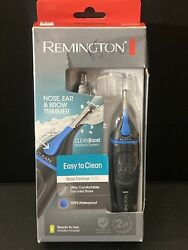 Remington Trimmer with Clean Boost Technology Nose Ear amp; Brow Black Comfortable $17.99