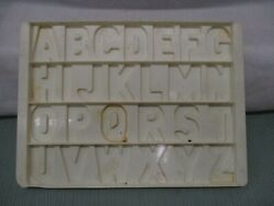 Vintage Fisher Price Alphabet School House Desk Replacement Tray #923 letter toy $10.75