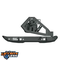 Road Armor 5182R1B TC Stelth Bmpr Mid With WTire Carier Ass for 18 20 Wrangler $2250.08