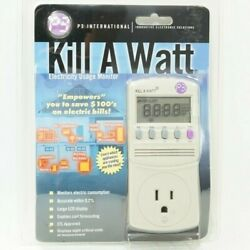 P3 International Kill A Watt Electricity Usage Monitor p4400.01 $29.99