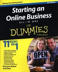 Starting an Online Business All in One for Dummies? by Joel Elad; Shannon Belew $4.72