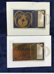 2 American Traditional Brass Stencils Thank You amp; Angels w Christmas Star  $4.75