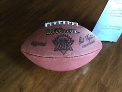SUPER BOWL XXIX 29 Authentic Wilson NFL Game Football NOS 49ers vs CHARGERS $79.00