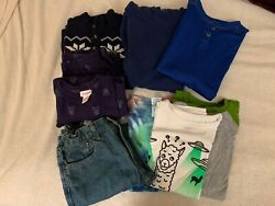 Mixed Lot of Boys Clothes Size 10 12 Shirts Pair of Jeans Sweater etc. $42.99