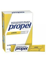 50 Propel Powder Packets Lemon Flavor with Electrolytes 50 count $29.99