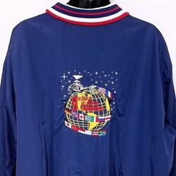 9th World Helicopter Championships Mens Jacket Vintage 90s 1996 Made In USA 2XL $41.99