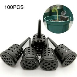 50 100pcs Pack Park Cultivate Aquarium Slow Release Fertilizer Baskets Bonsai $13.67