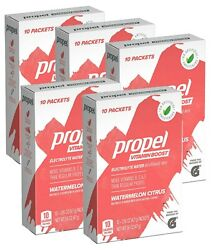 50 Propel Vitamin Boost Powder Packets Watermelon Citrus Flavor 50 Servings $19.99