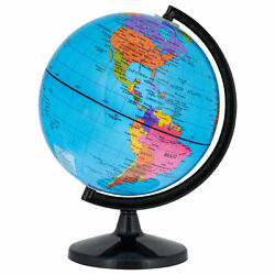 TCP Global 6quot; Blue Ocean World Globe Political Geography Rotates Educational $11.99