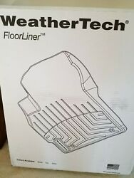 WeatherTech Floor Mats Ford F150 Front Floor Only Black New Unopened Box $80.00