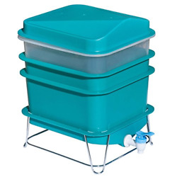 4 Tray Worm Factory Farm Compost Small Compact Bin Set $58.75