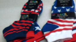 6 pair of ladies socks size 9 11 new free shipping $9.99