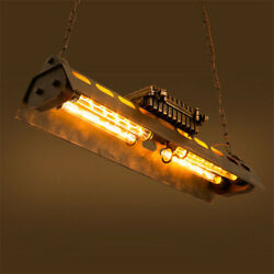 Antique Style Pendant Flush Ceiling Light Hanging Lamp Fixture with Metal Shade $169.00
