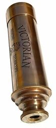 Nautical Brass Antique VICTORIAN Marine Telescope London 1915 CHRISTMAS GIFT $40.00