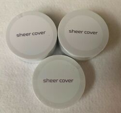 Sheer Cover Perfect Shade Foundation Sun Kissed Bronzer amp; Conceal Brighten Trio $56.99