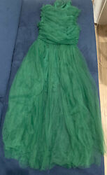 summer dresses for women small Green Full Lace Self Portrait Style $27.99