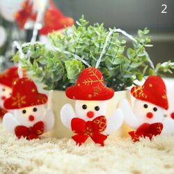 LED String Lights Christmas Lamps Battery Powered Santa Snowman Party Decor Cute $19.08