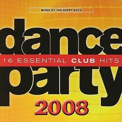 Dance Party: 16 Essential Club Hits us Import CD 2007 $6.49