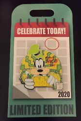 Disney Pin Goofy Celebrate Today 2020 National Taco Day LE 4000 Limited Edition $24.48