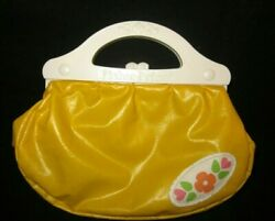 Fisher Price My Pretty Purse quot;Yellow Vinyl Purse Onlyquot; Replacement Vintage 1982 $9.99
