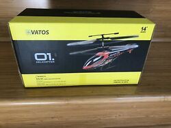 Vatos Helicopter Remote Control Indoor Helicopter 3.5 CH New Open Box $19.99