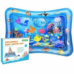 Bright One Tummy Time Water Play Mat Inflatable for Infants 3 6 9... $18.46