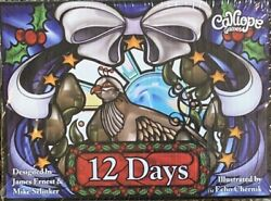 12 Days of Christmas NEW Card Game for Families Ages 8 3 5 Players $9.99