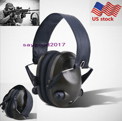 Folding Electronic Ear Muffs Hearing Noise Protection Shooting Hunting headset $28.49