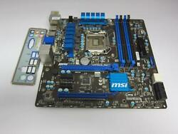 MSI Motherboard H77MA G43 No CPU $70.00