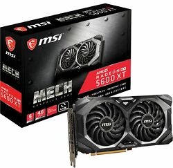 MSI RX 5600 XT MECH OC 6GB GDDR6 PCI Express 4.0 Graphics card Black $279.99