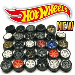 Hot Wheels Real Riders Wheels and Tires Set for 1 64 Scale $6.99