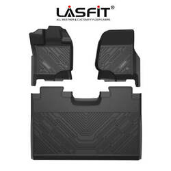 Lasfit Floor Mats Liners TPE for Ford F150 2015 2021 Super Crew Cab All Weather $99.97