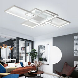 80W Acrylic Lamp LED Home Ceiling Light Living Room Chandelier Fixture 80w 110v