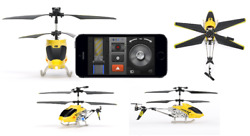 HELO TC Touch Controlled Helicopter for iPhone iPad iPod touch or Android $20.00