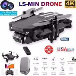 Mini Drone 4K 1080P HD Camera WiFi Fpv with 3battery Foldable Quadcopter NEW $42.88