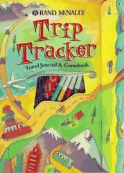 NEW Never used Rand McNally TRIP TRACKER with stickers for ROAD TRIPS $5.99
