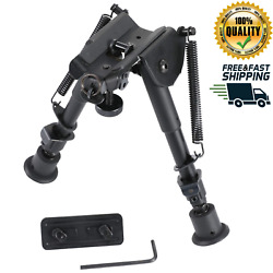 CVLIFE 6quot; 9quot; Tactical Rifle Bipod Adjustable Spring Return Adapter M LOK System $29.99