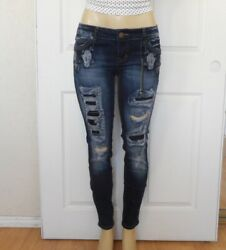 New RUE21 Womens Low Rise Denim Jegging Jeans Size 8 $24.99
