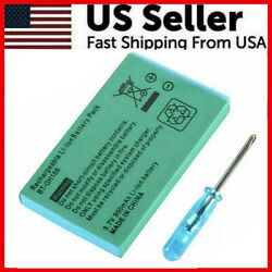 New Rechargeable Battery For Nintendo Game Boy Advance SP Systems Screwdriver $4.04