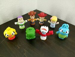 Little People Toy Story 4 lot of 8 Woody and Friends $17.99