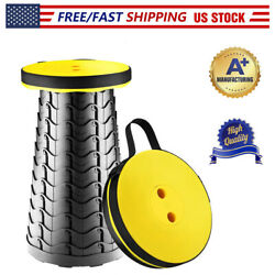 Folding Stool Retractable Camping Fishing Chair Lightweight Telescopic Seat $19.88