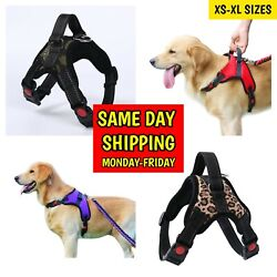 Dog Harness Adjustable No Pull Dog Vest Harness with Handle XS S M Large XL $10.29