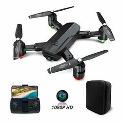 DF01G Foldable GPS Drones for Adults FPV Camera Drone HD 1080P with Background $159.98