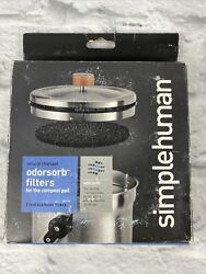 Simple Human Odorsorb Filters for the compost pail KT1135 $22.49