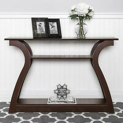 Farmhouse Console Table Narrow Accent Tables For Living Room Entryway Hallway $132.49