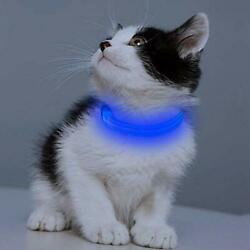 Led Dog Collar Rechargeable Light Up Dog Collars for Small Dogs Cats Reflect $15.30