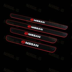 NEW Black Rubber Car Door Scuff Sill Cover Panel Step Protector for Nissan 4PCS $16.99