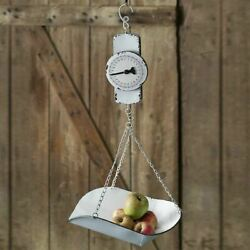 Rustic Hanging Decorative Produce Scale Distressed Country Farmhouse Decor $45.95