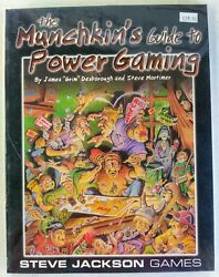 The Munchkin#x27;s Guide to Power Gaming New Book SC by Steve Jackson Games $19.99